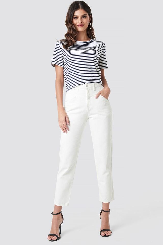Front Yoke Jeans NA-KD Trend