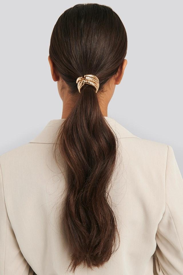Gold Hair Elastic Gold