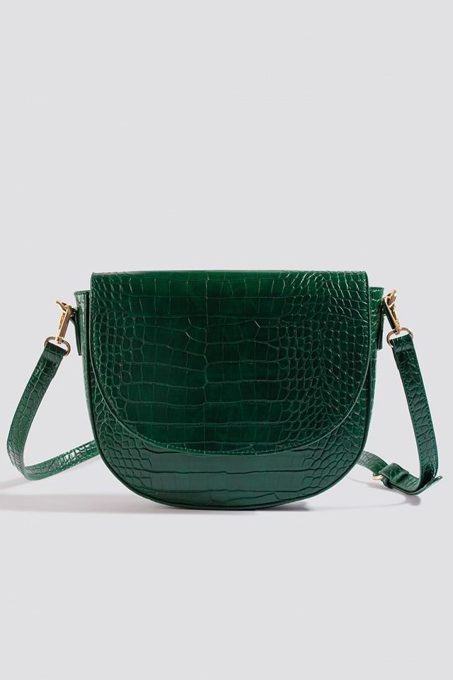 Halfmoon Reptile Bag Green