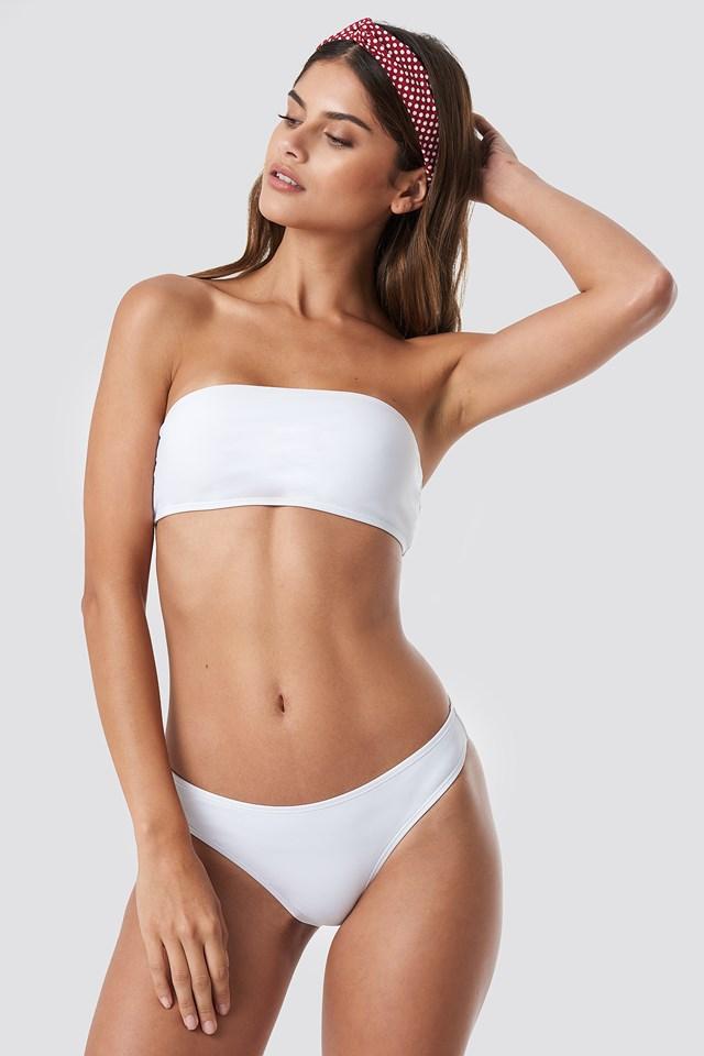High Cut Bikini Panty White