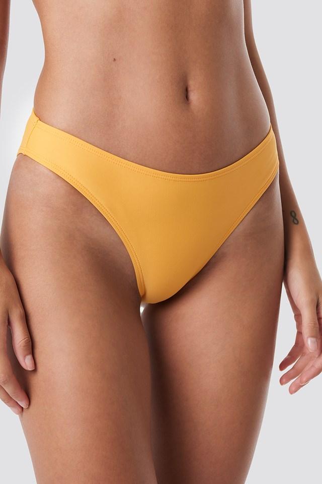 High Cut Bikini Panty Mandarin