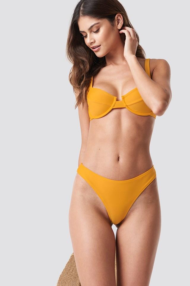 High Cut Bikini Panty NA-KD Swimwear