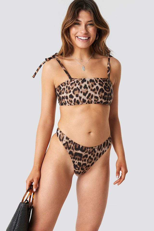 High Cut Bikini Panty Leo