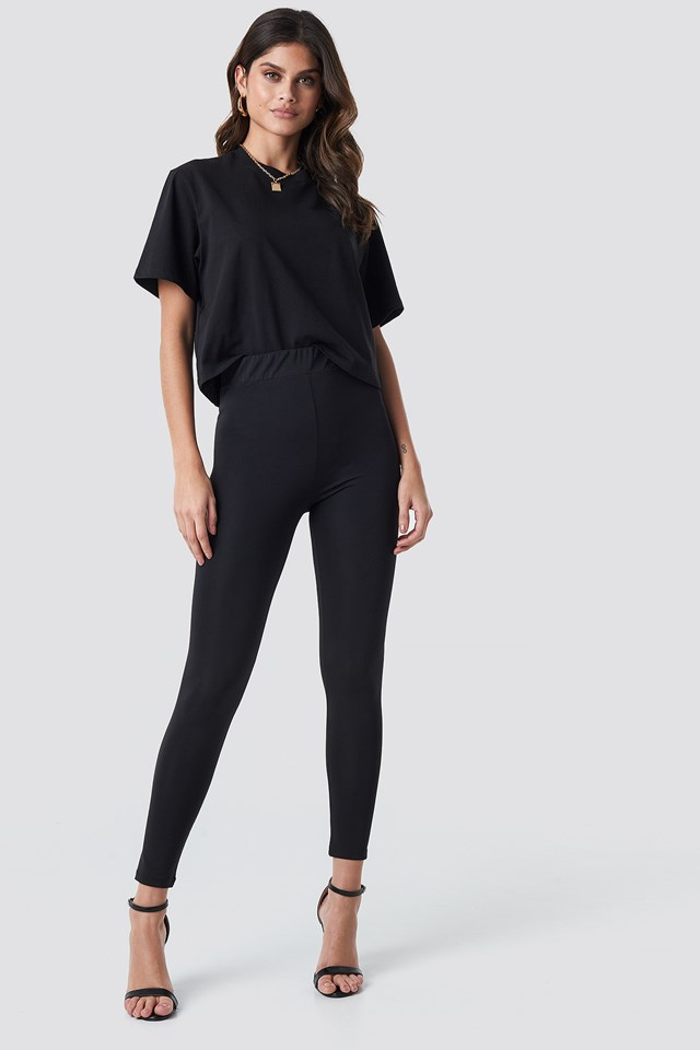 High Waist Leggings NA-KD Trend