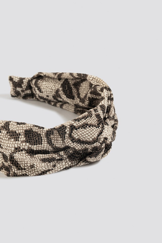 Knotted Hair Hoop Snake