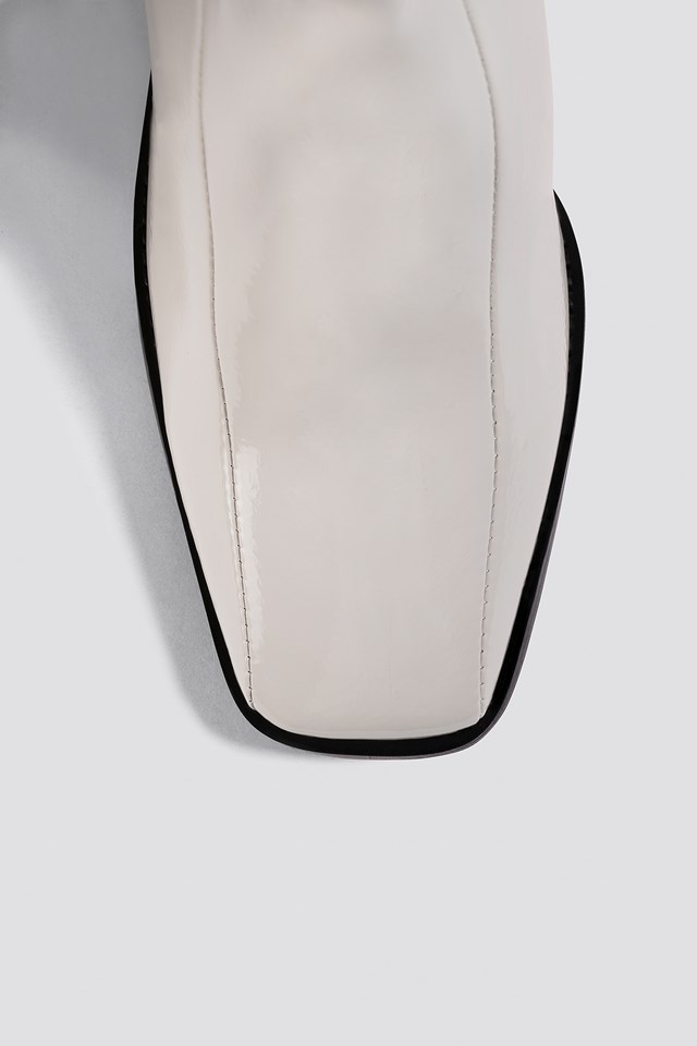 Lenore Long Boot Off White