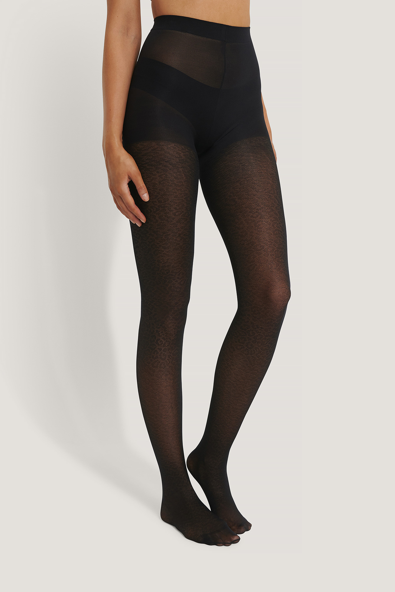 Black Leo Tights 50 DEN