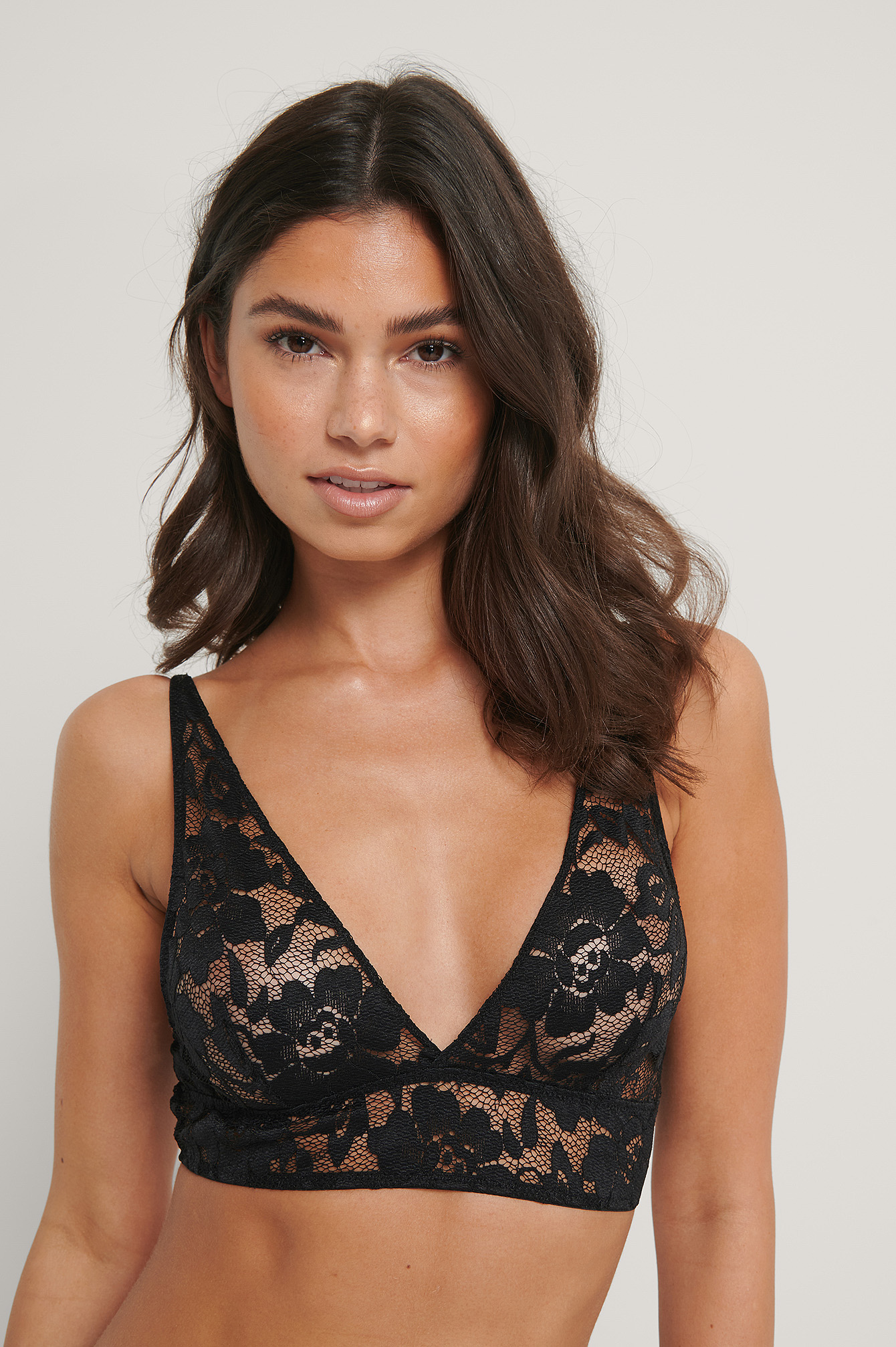 Black Lace Romance Bra