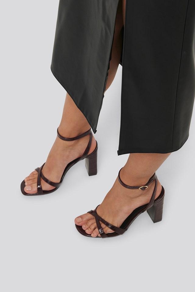 Heaven Sandals Bordeaux