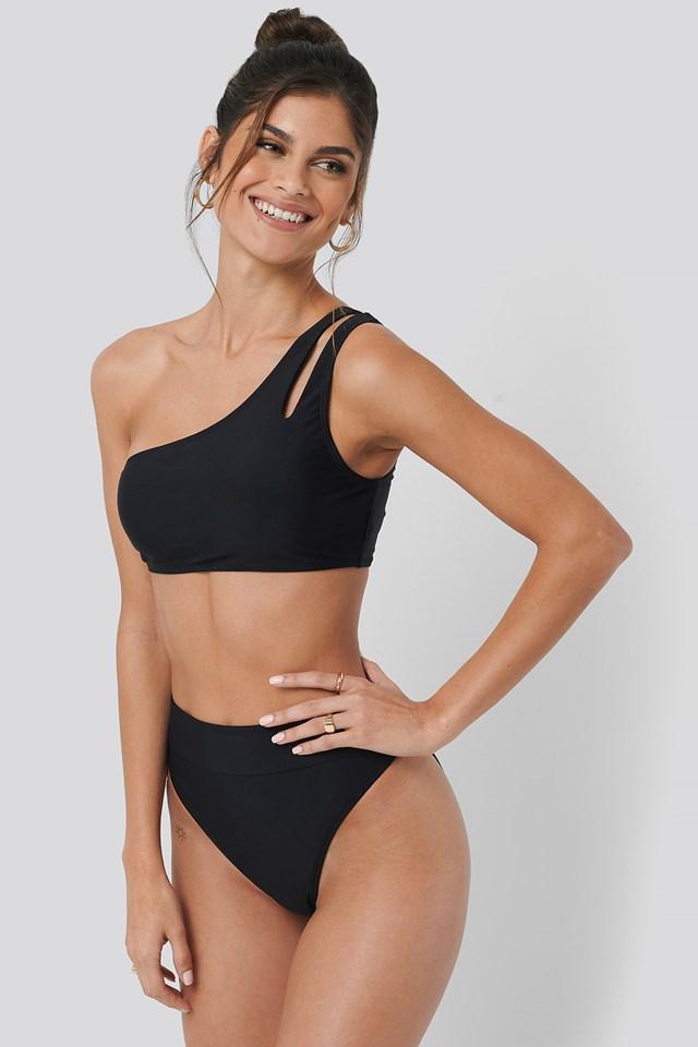 Maxi High Waist Bikini Panty NA-KD Swimwear