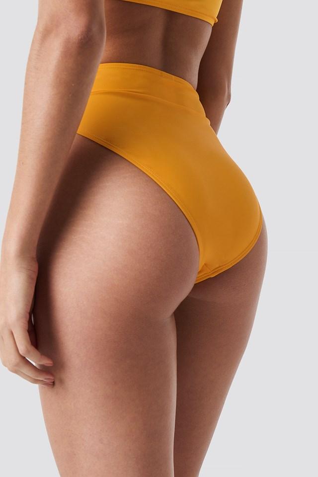 Maxi High Waist Bikini Panty Citrus
