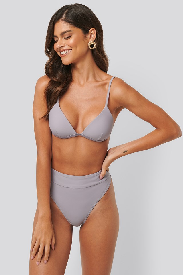 Maxi High Waist Bikini Panty Dusty Lilac