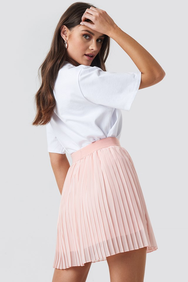 Mini Pleated Skirt Rose Quartz