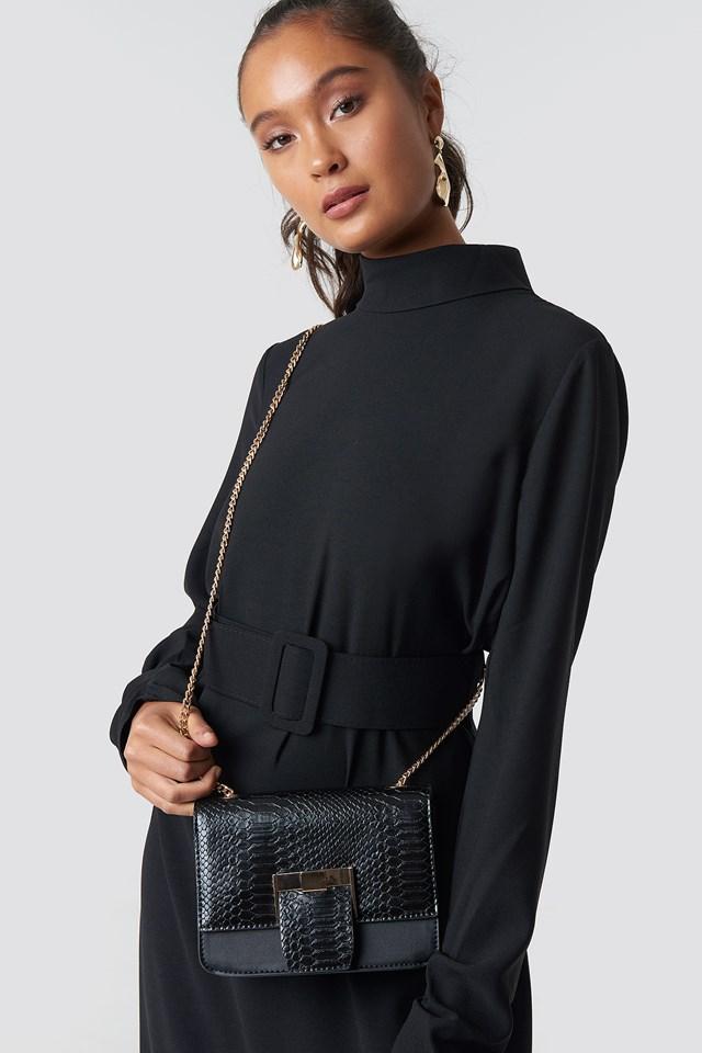 Mini Squared Chain Bag NA-KD Accessories