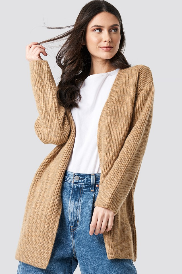 Mohair Blend Cardigan NA-KD Trend