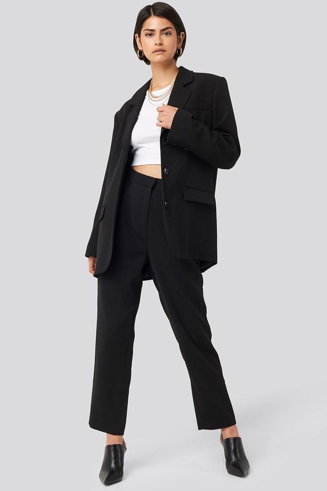 Maxi Oversized Blazer Black