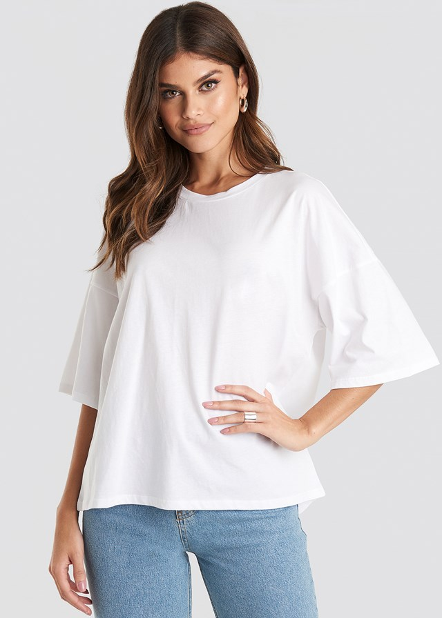 Oversized Boxy T-shirt NA-KD