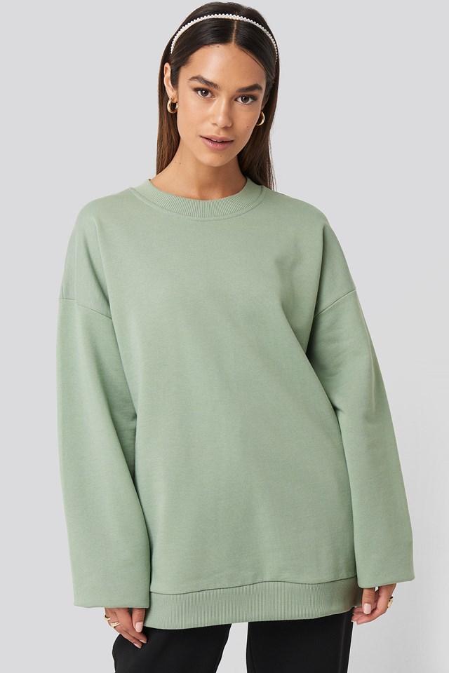 Oversized Crewneck Sweatshirt NA-KD