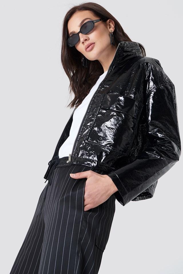 Patent Short Jacket NA-KD Trend