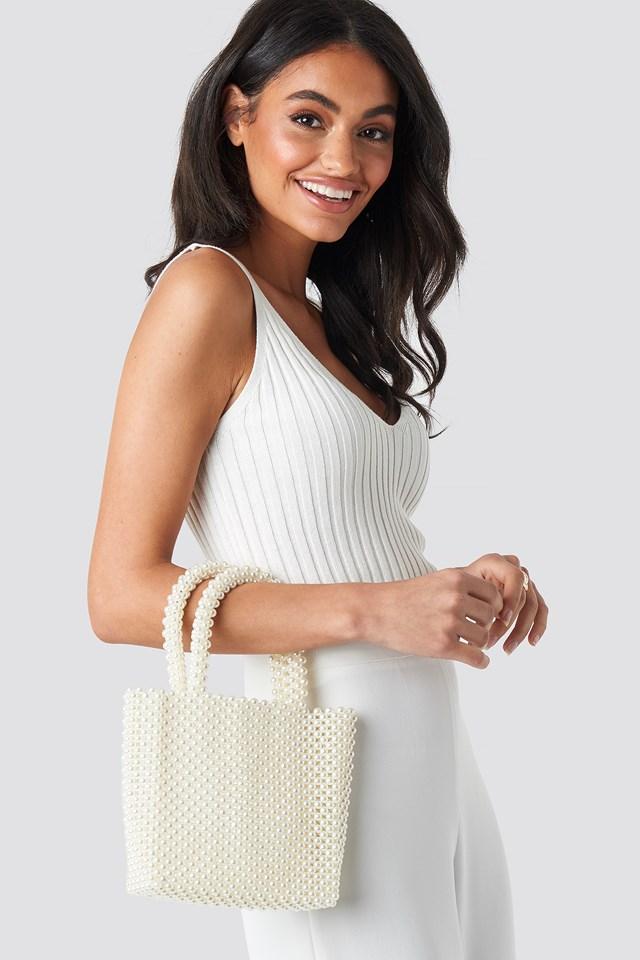 Pearl Bag White