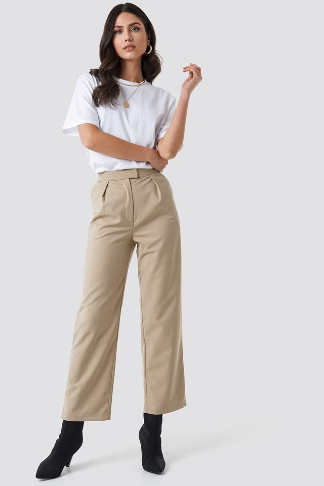 Pleated Trousers NA-KD