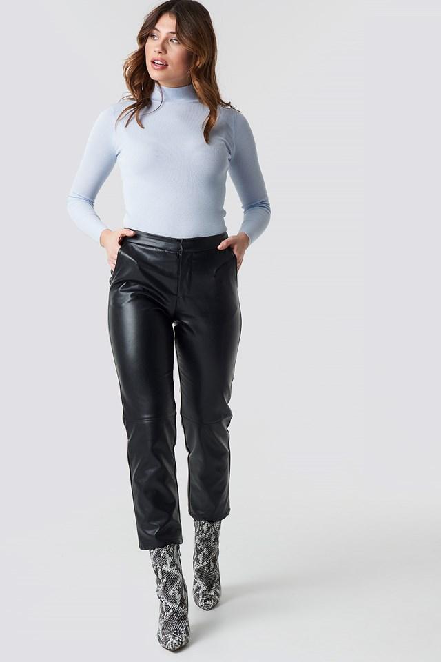 PU Pants NA-KD Trend