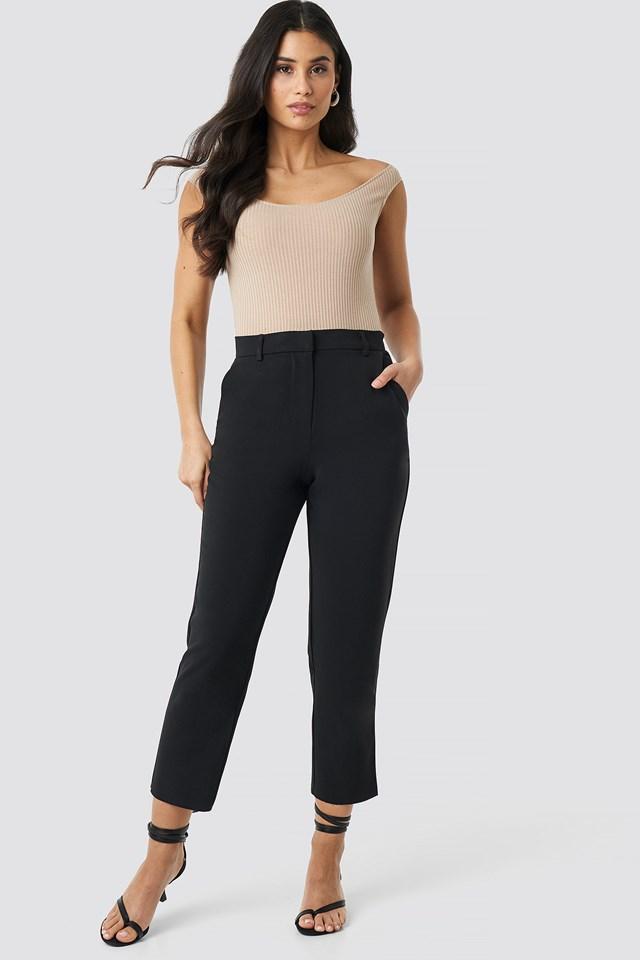 Raw Hem Pants NA-KD Trend