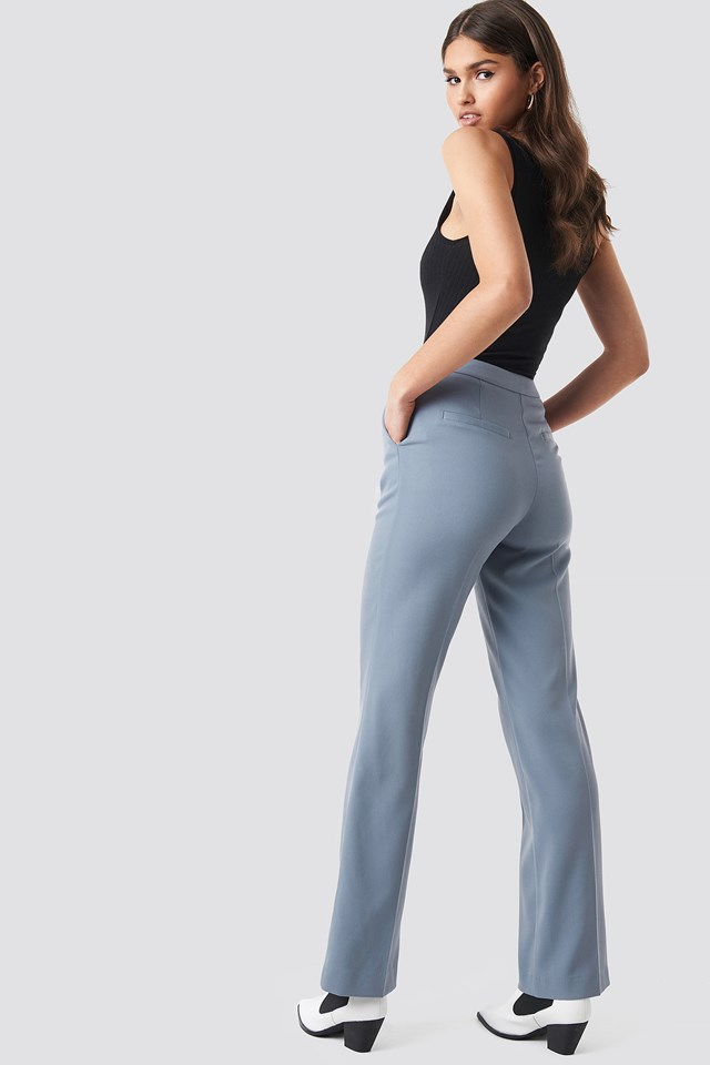 Regular Fit Suit Pants Blue/Grey