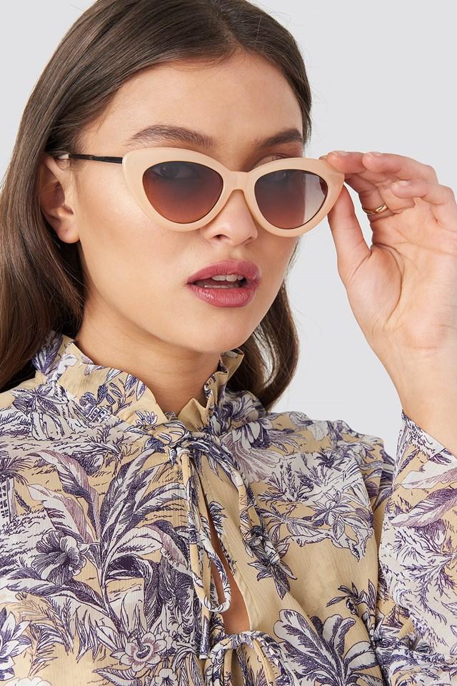 Retro Cat Eye Sunglasses NA-KD Accessories
