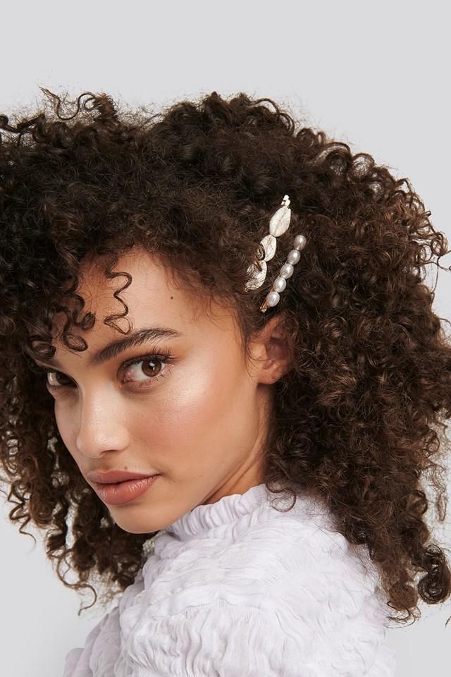 Sea Look Hairclips Gold