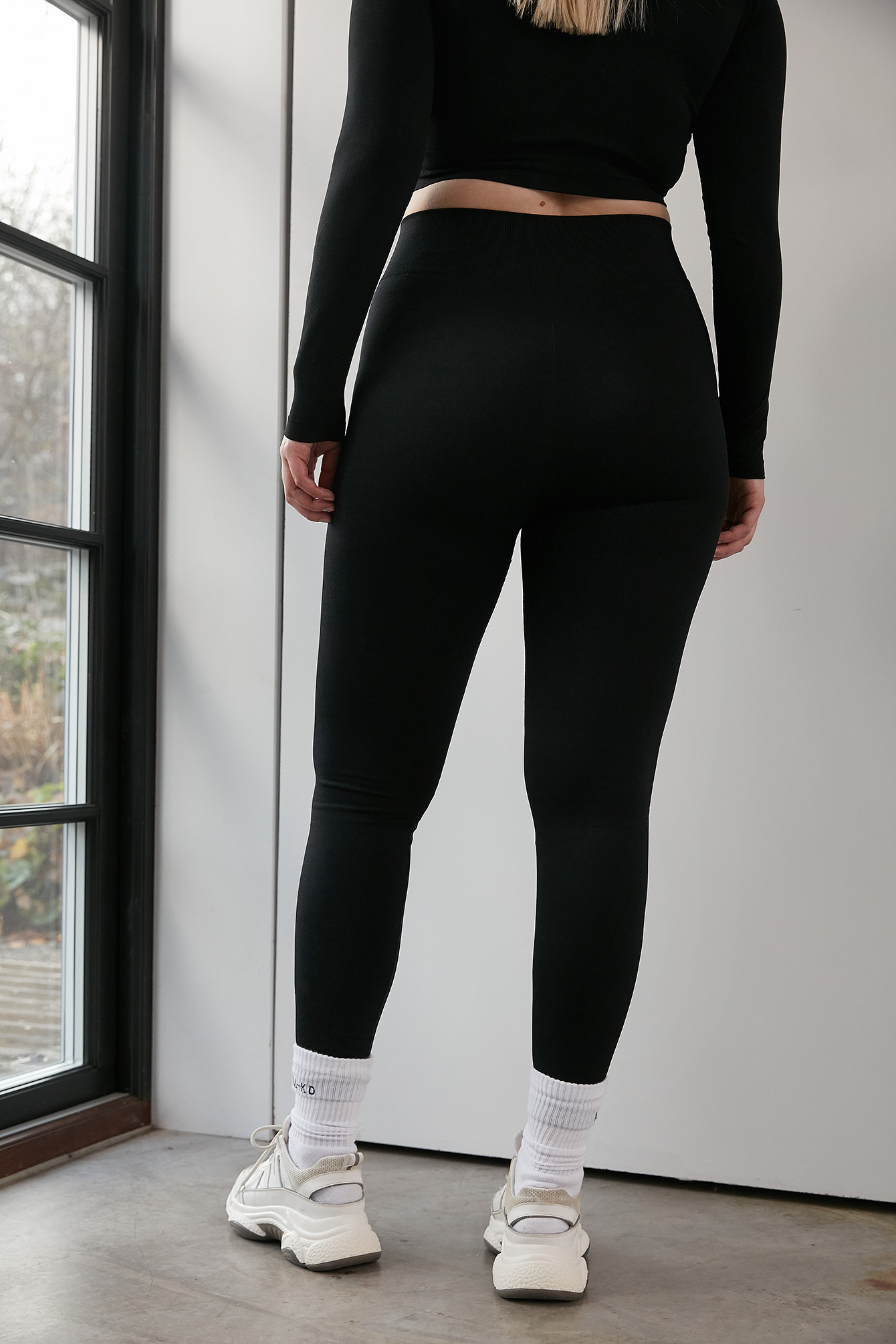 Black Seamless High Waist Leggings