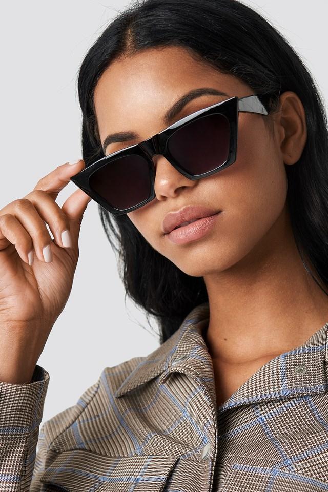 Sharp Square Cateye Sunglasses NA-KD Accessories