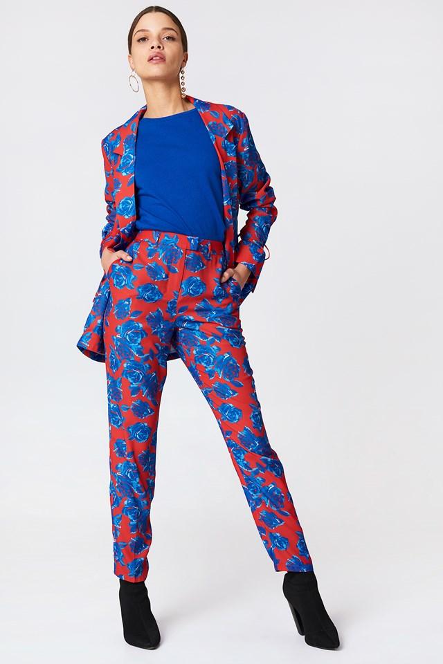 Shiny Suit Pants NA-KD