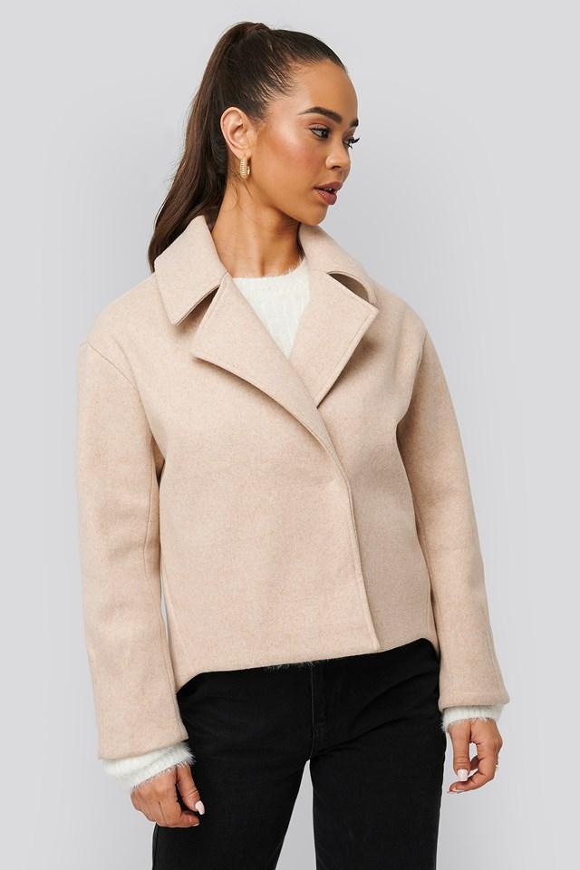 Short Coat Beige