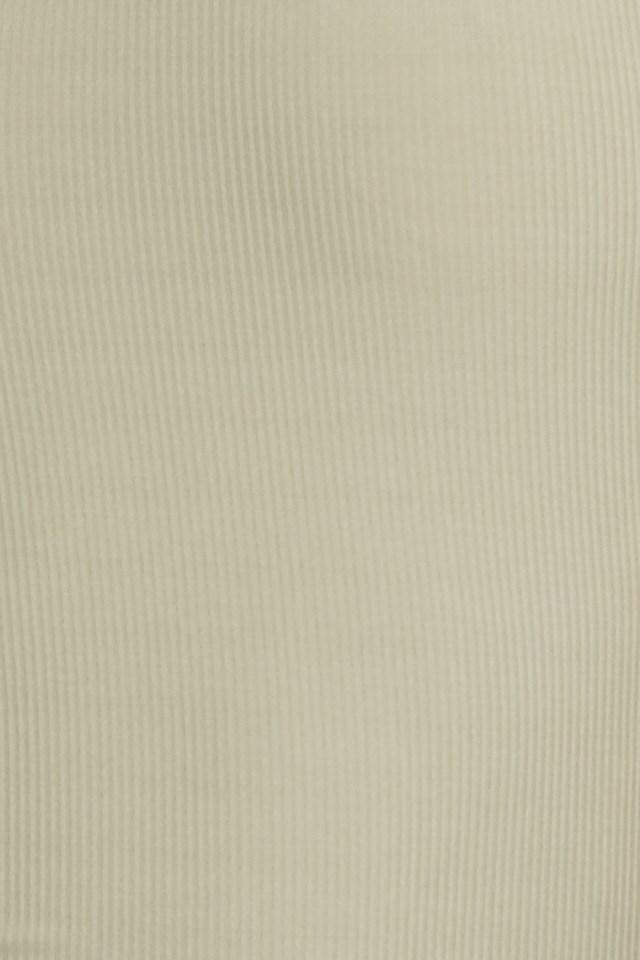 Side Striped Top Khaki