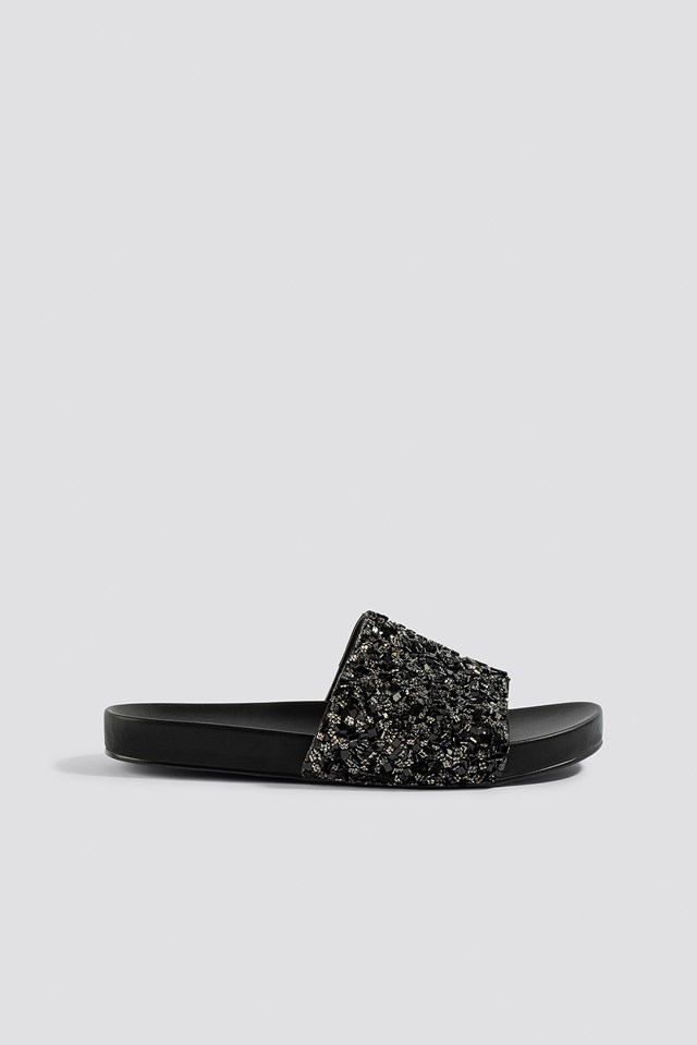 Sparkling Slippers NA-KD Shoes
