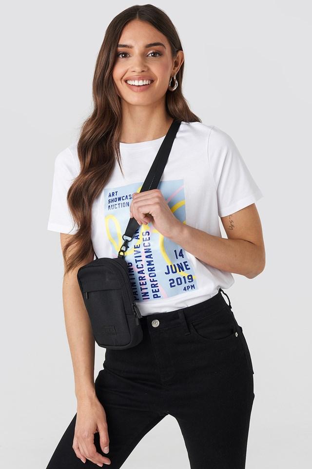 Squared Crossbody Bag Black