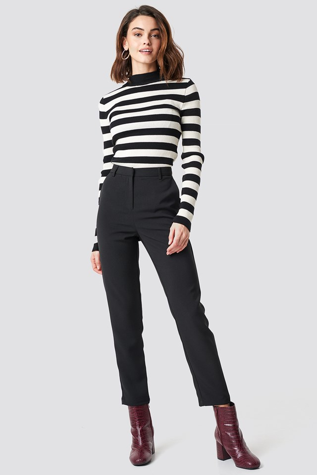 Straight Leg Suit Pants NA-KD Classic