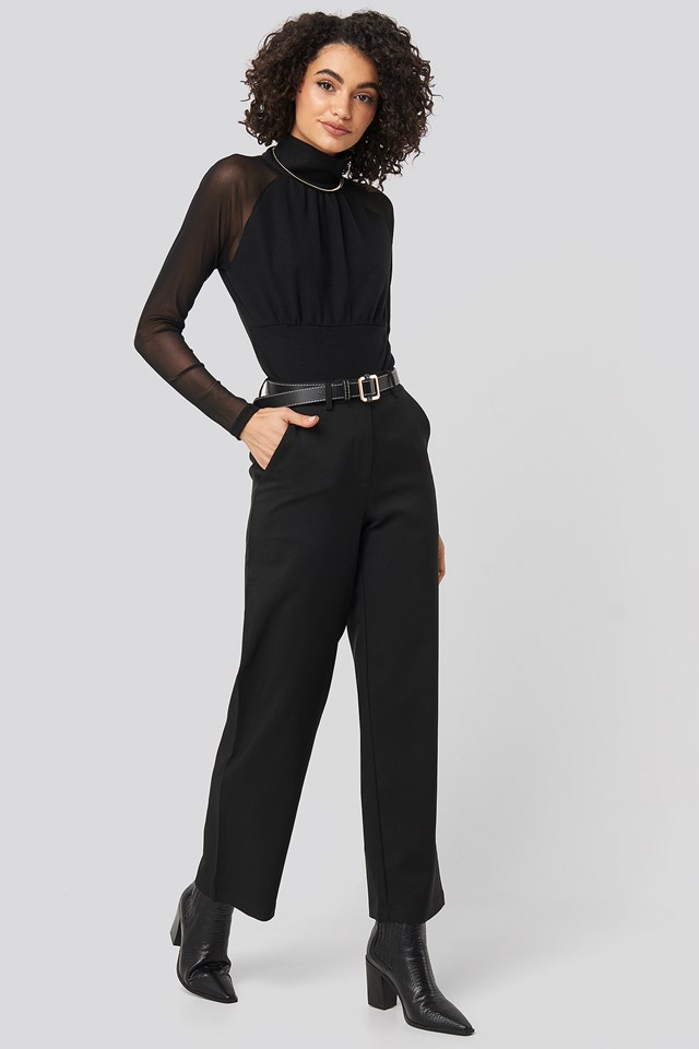 Straight Leg Wide Pants NA-KD Party