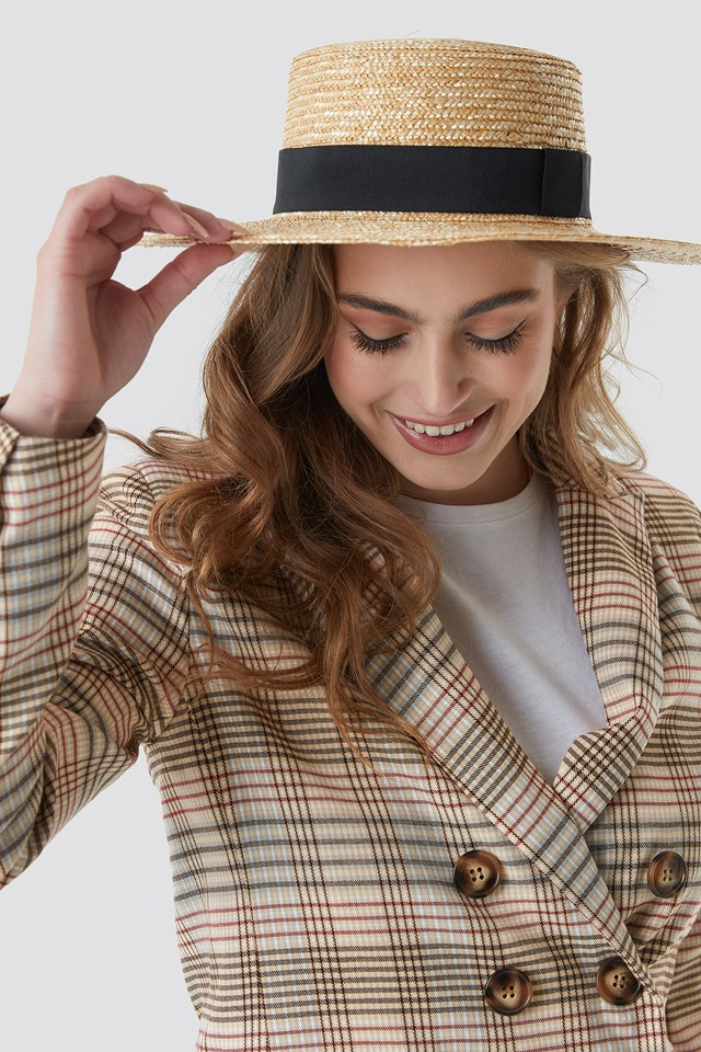 Straw Hat NA-KD Classic