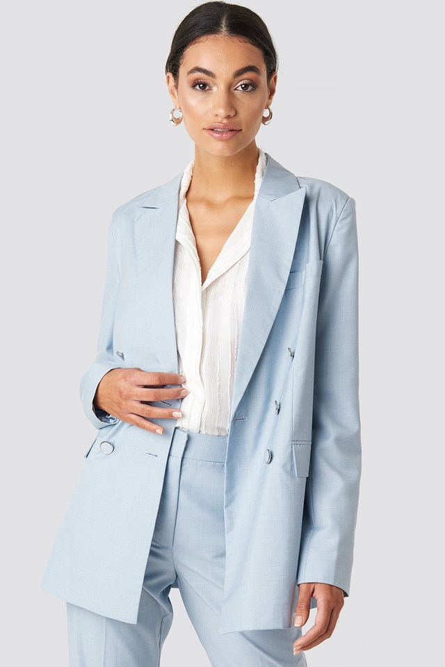 Tailored Double Breasted Blazer NA-KD Classic