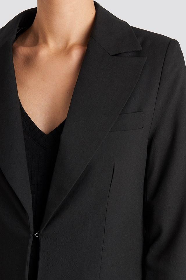 Tailored Suit Blazer Black