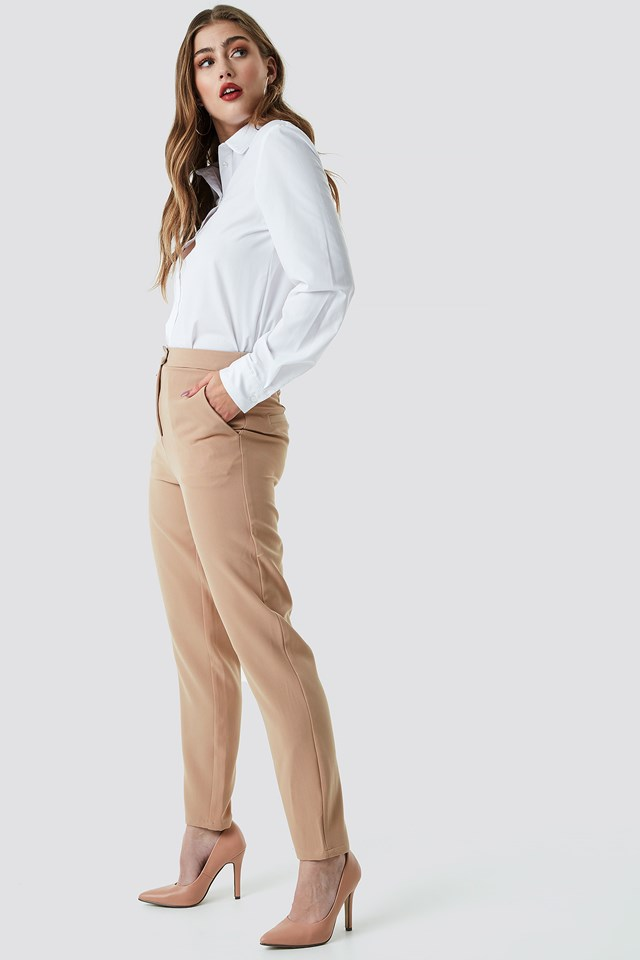 Tailored Suit Pants NA-KD Classic