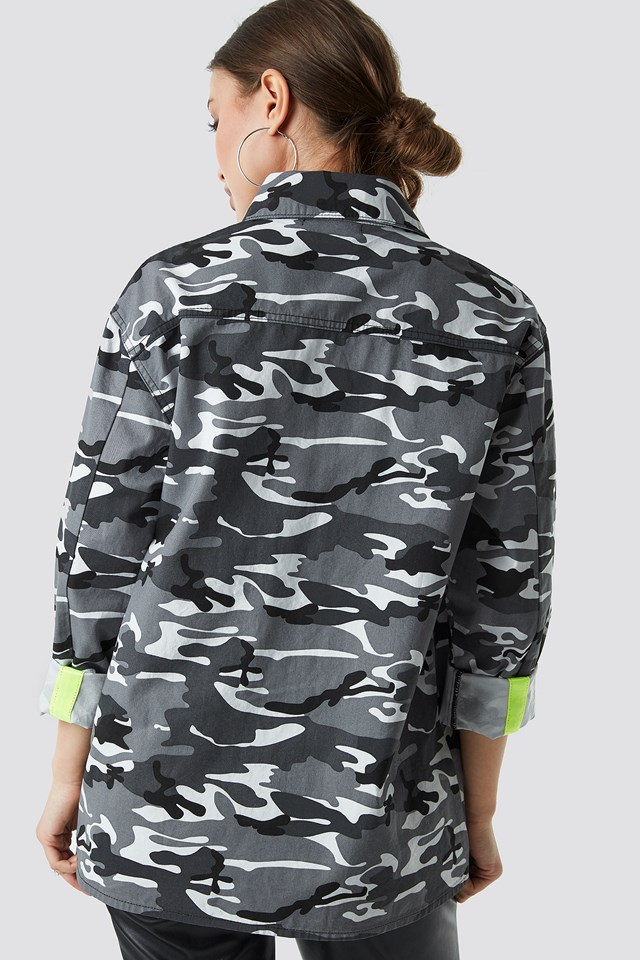 Utility Pocket Shirt Camo