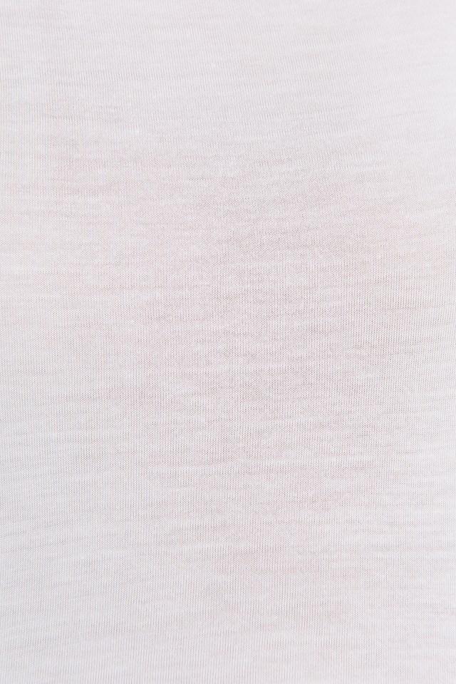 Viscose Basic Tee White