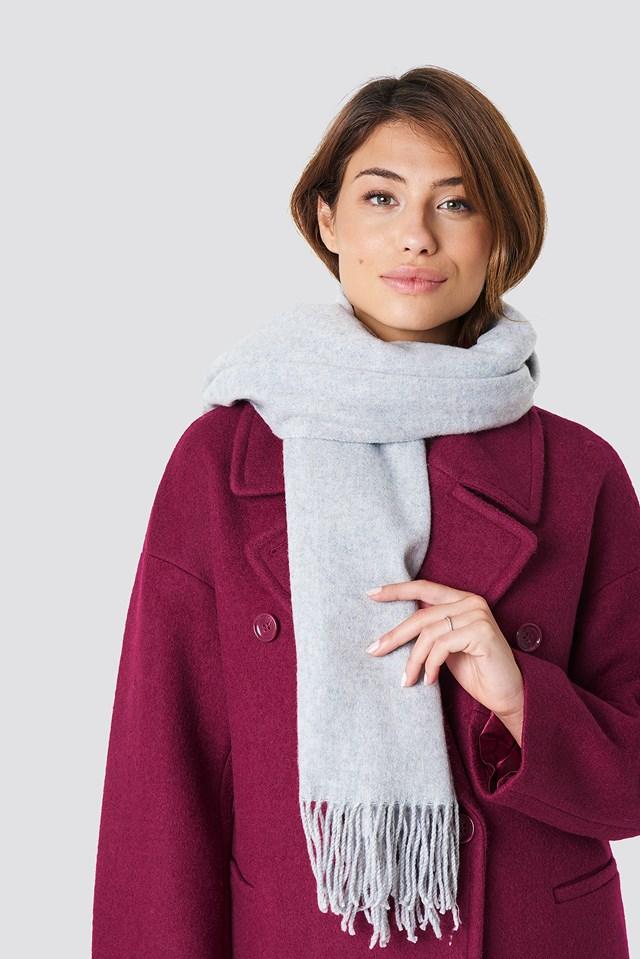 Wool Blend Scarf NA-KD Accessories