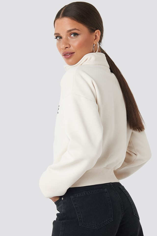Balance Zip Up Light Beige