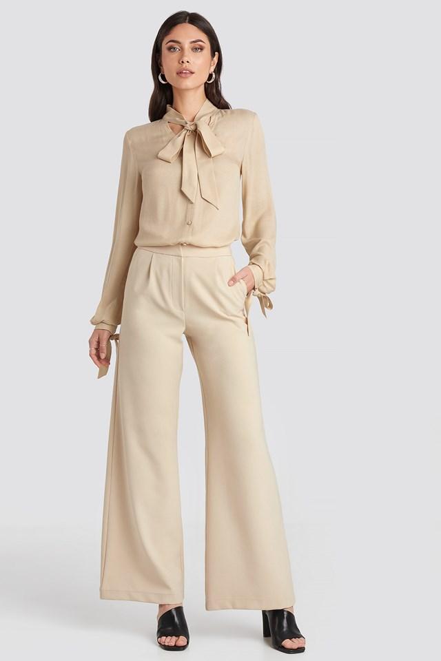 Flared Suit Pants Nicole Mazzocato x NA-KD