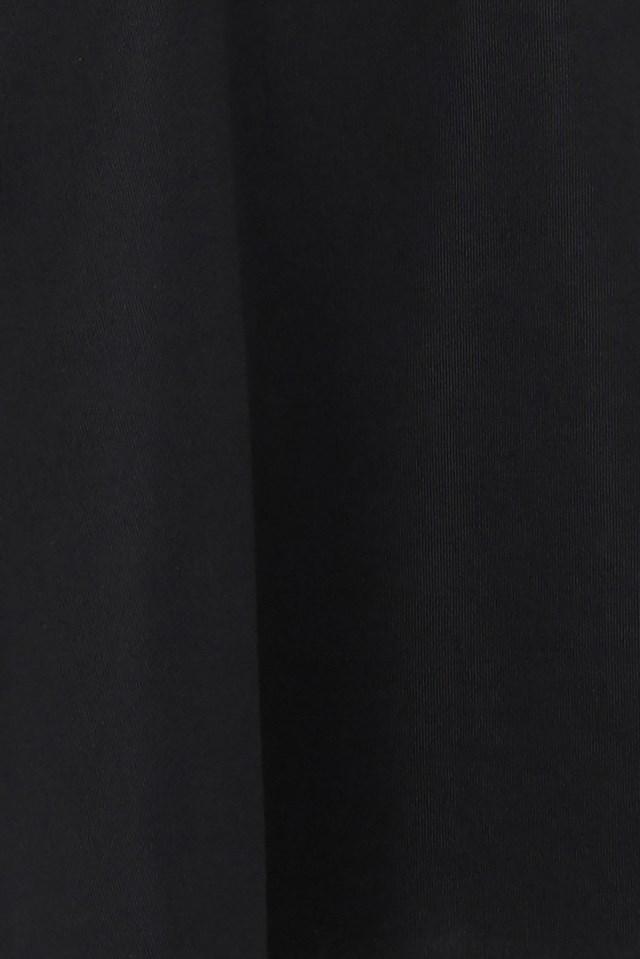 Halter Neck Skater Dress Black