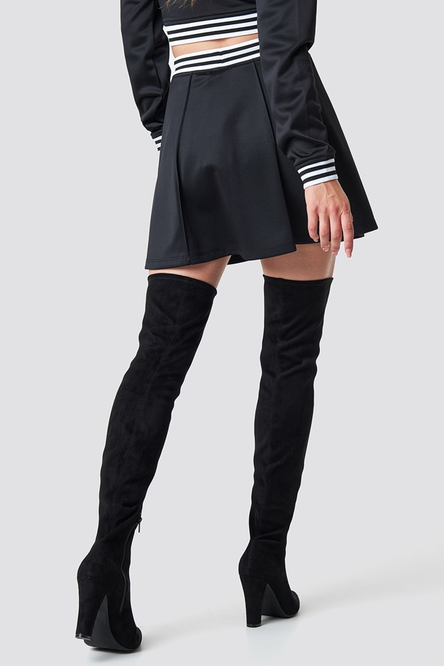 Track Skirt Black